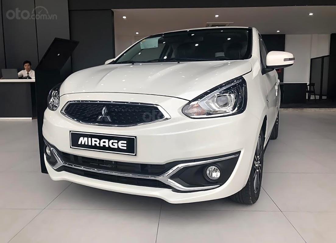Bán Mitsubishi Mirage đời 2019, màu trắng, xe nhập, 451 triệu-1