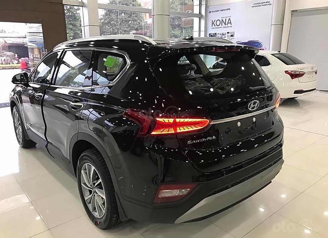 Bán xe Hyundai Santa Fe 2.4L năm 2019, màu đen-1