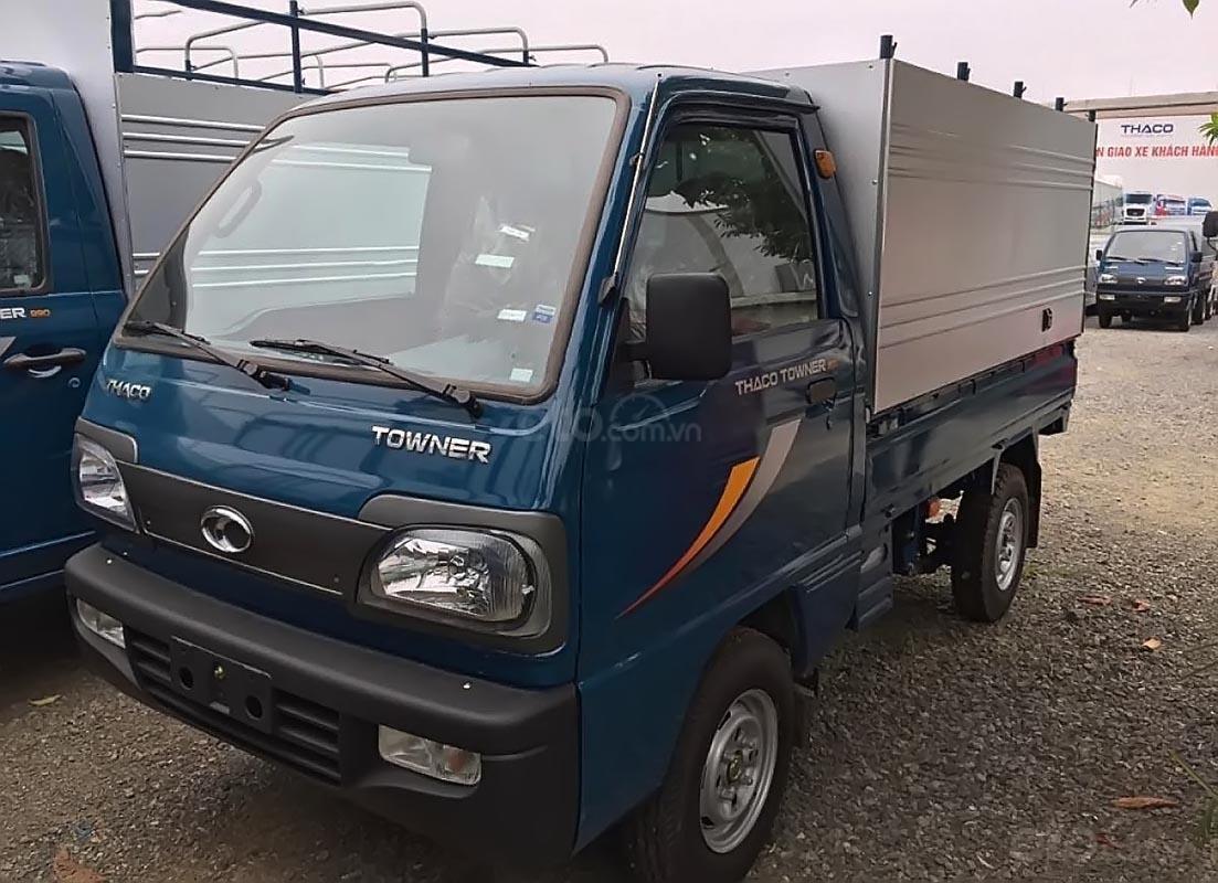 Bán Thaco TOWNER năm sản xuất 2019, màu xanh lam-0