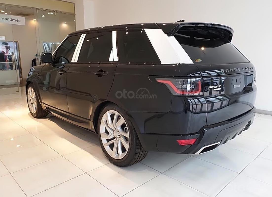 Bán ô tô LandRover Range Rover Sport HSE 2019, màu đen, mới 100%-0