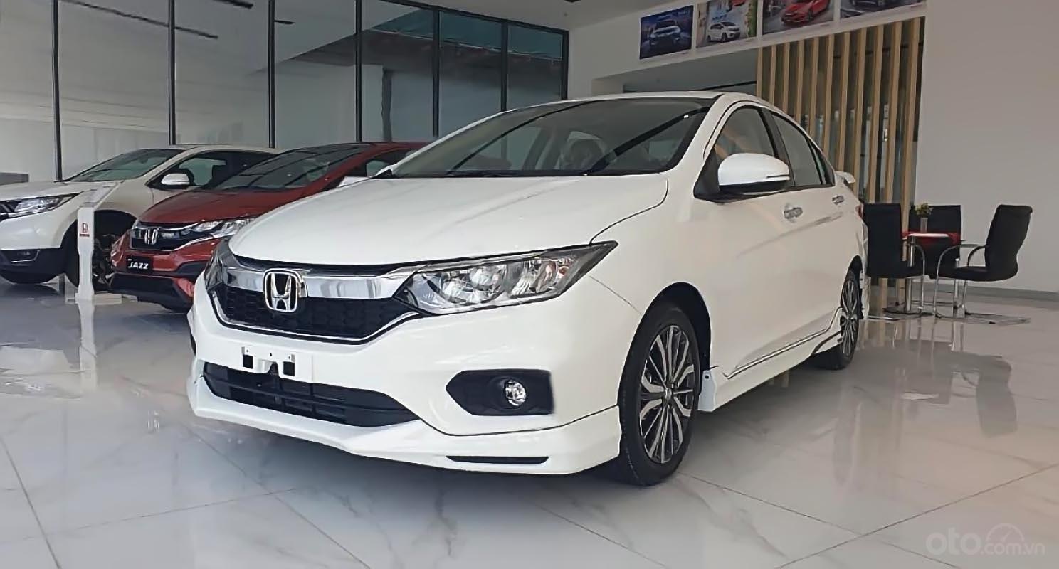 Bán xe Honda City 2019, số tự động, máy xăng, màu đỏ, nội thất màu đen (1)