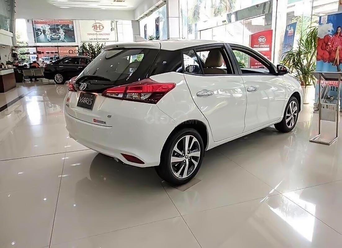 Bán Toyota Yaris 1.5G năm sản xuất 2019, màu trắng, xe nhập-0