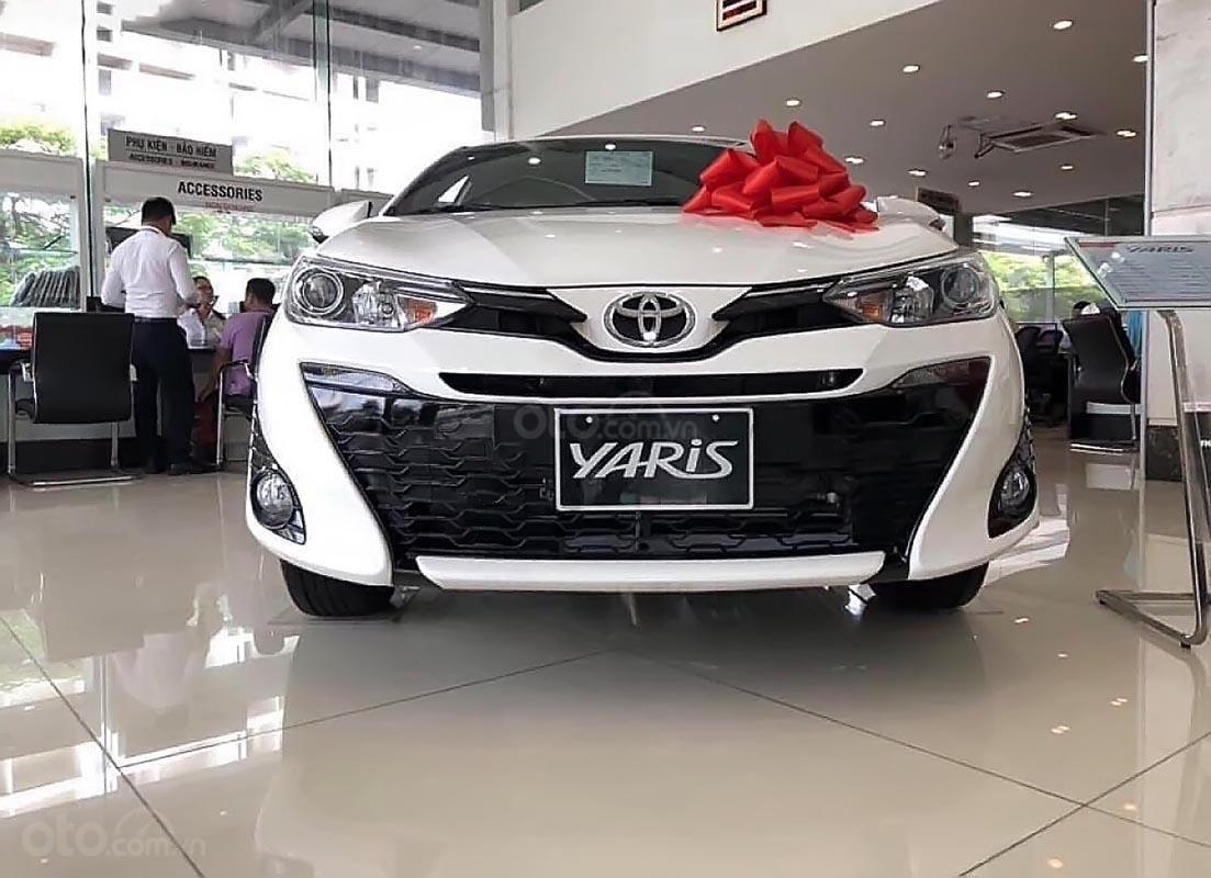 Bán Toyota Yaris 1.5G năm sản xuất 2019, màu trắng, xe nhập-3
