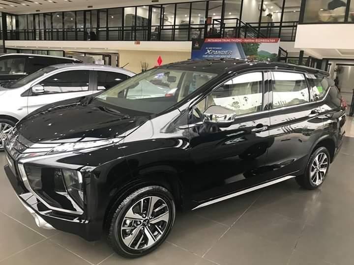 Bán Mitsubishi Xpander năm sản xuất 2019, màu đen, xe nhập khẩu 100% indonesia-4
