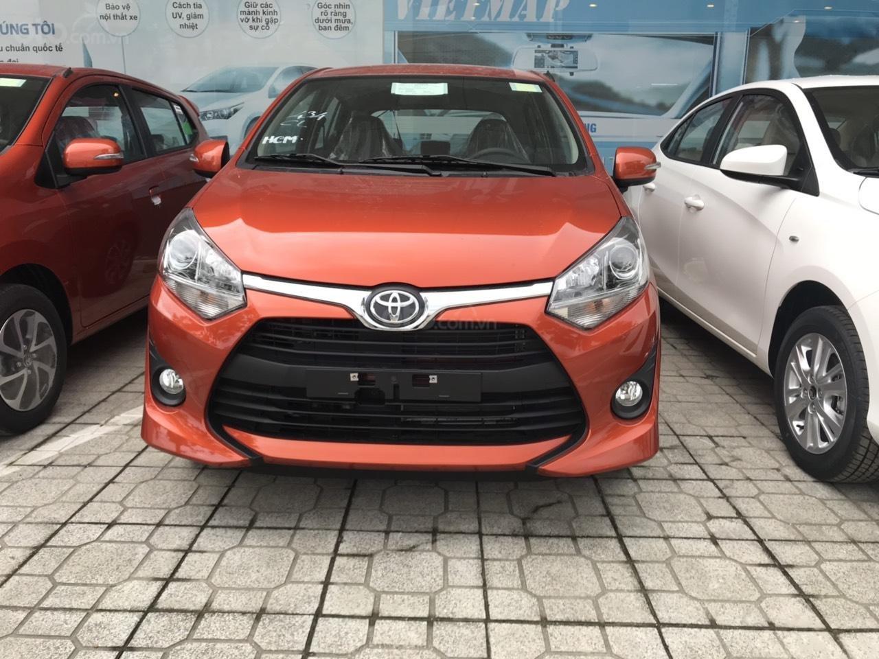 Bán xe Toyota Wigo 1.2MT năm 2019, xe nhập khẩu/ khuyến mãi lớn (1)