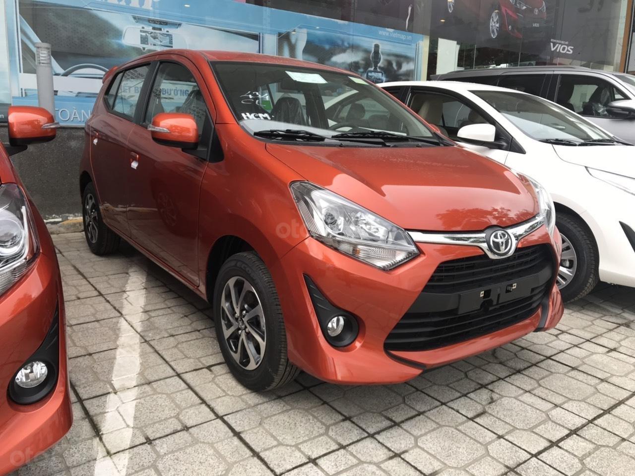 Bán xe Toyota Wigo 1.2MT năm 2019, xe nhập khẩu/ khuyến mãi lớn (2)