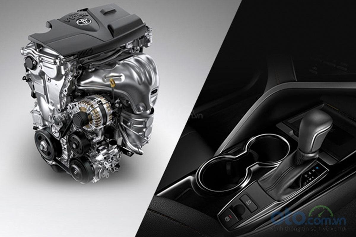 Toyota Camry 2.0G 2019: Động cơ.