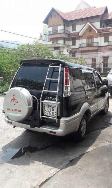 Bán Mitsubishi Jolie đời 2005, màu đen xe gia đình-3