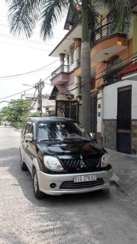 Bán Mitsubishi Jolie đời 2005, màu đen xe gia đình-2