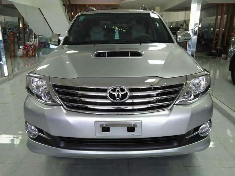 Bán ô tô Toyota Fortuner sản xuất 2016, màu bạc xe gia đình, giá chỉ 895 triệu-1