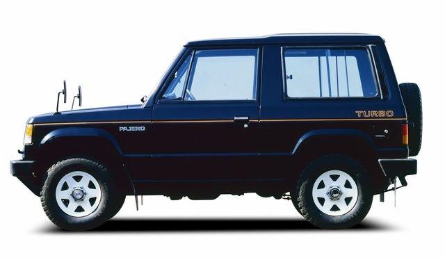Mitsubishi Pajero thế hệ đầu tiêndgsd
