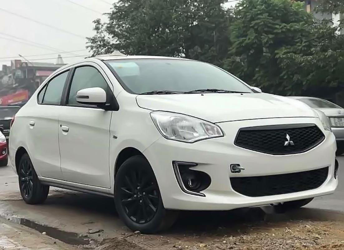 Bán Mitsubishi Attrage 2019, màu trắng, nhập khẩu, giá chỉ 476 triệu-1