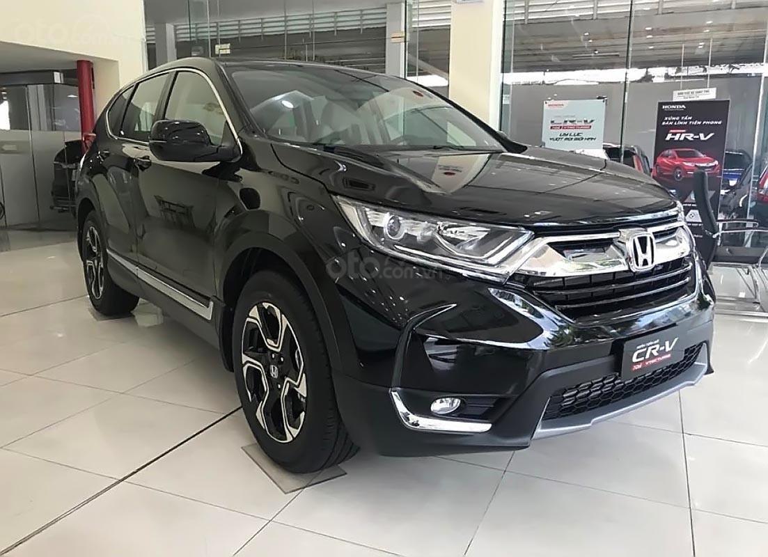 Bán xe Honda CR V E 2019, màu đen, nhập khẩu, xe mới 100%-0