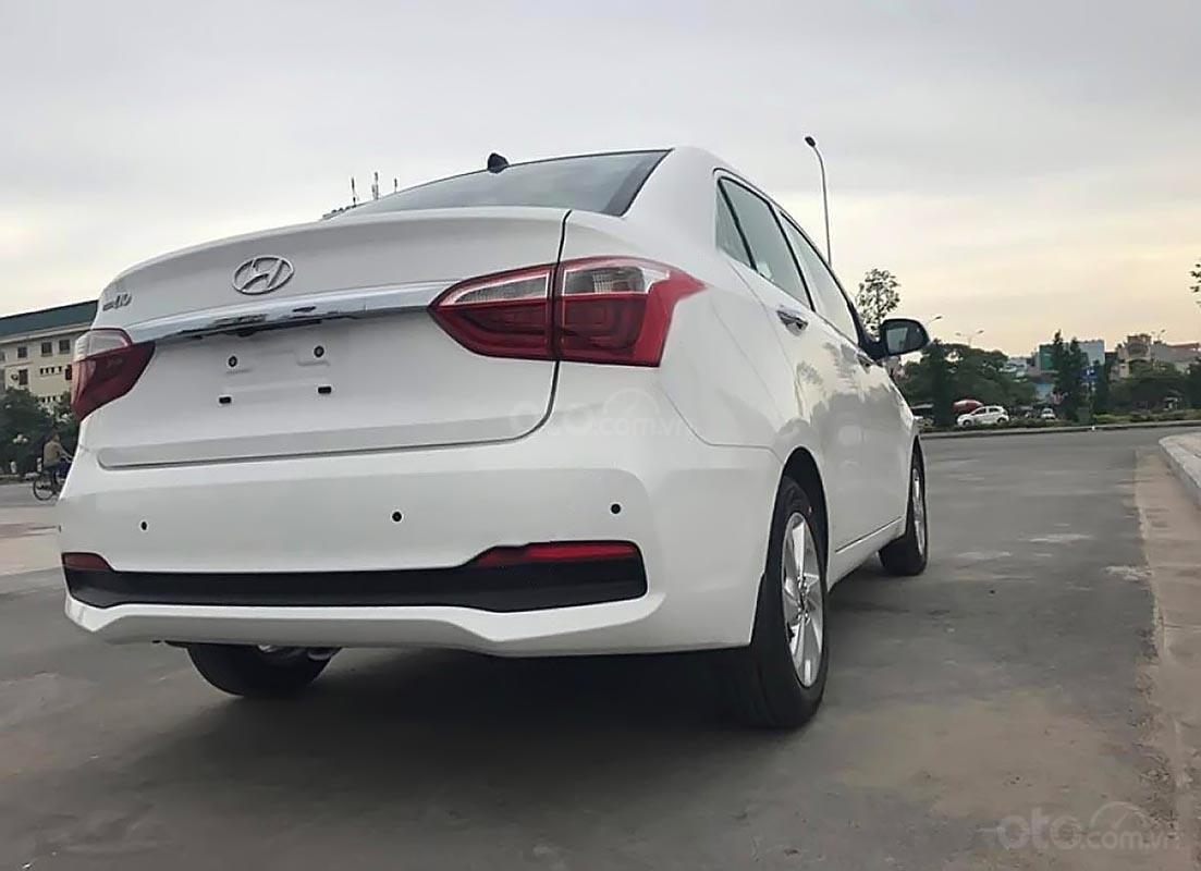 Bán xe Hyundai Grand i10 sản xuất 2019, màu trắng, giá chỉ 408 triệu-1