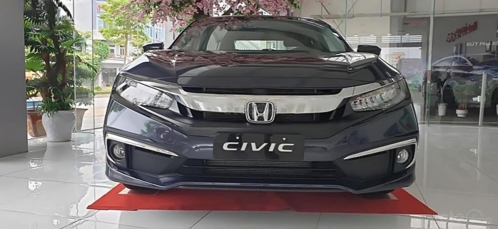 Bán Honda Civic 1.8 G năm 2019, màu xanh lam, xe nhập-1