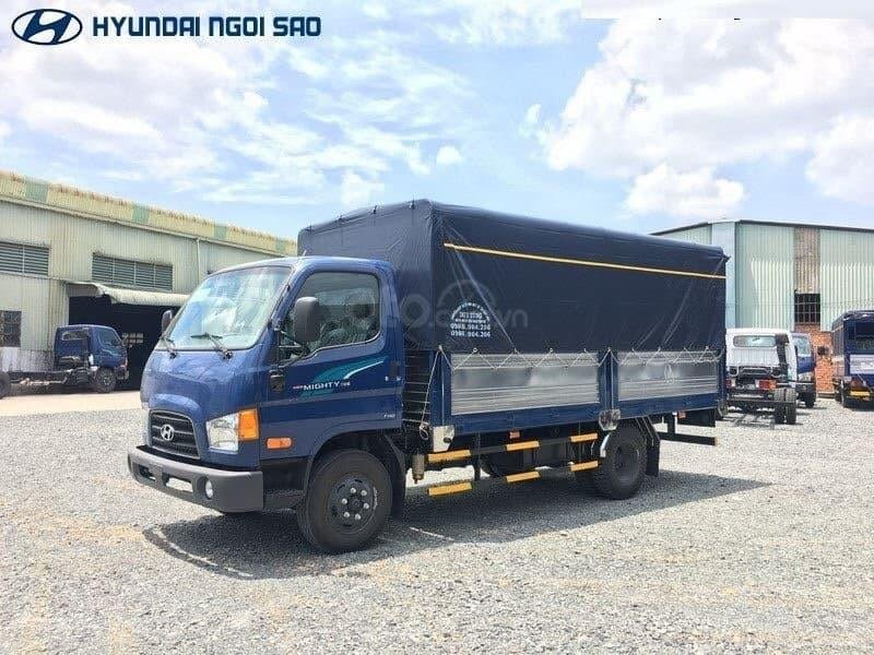 Xe tải 3.5 tấn Hyundai Mighty 75s, mua xe tặng xe, bh2c, định vị, hỗ trợ trả góp: 0978901788-4