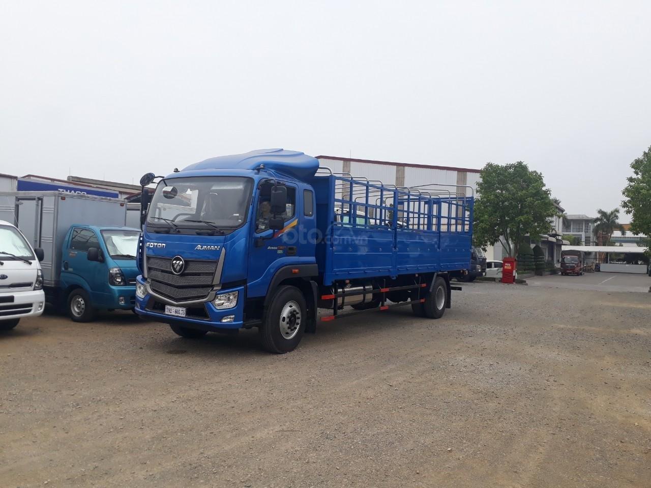 Xe tải Thaco Auman C160. E4 tải trọng 9.1 tấn Trường Hải thùng dài 7,4m ở Hà Nội-0