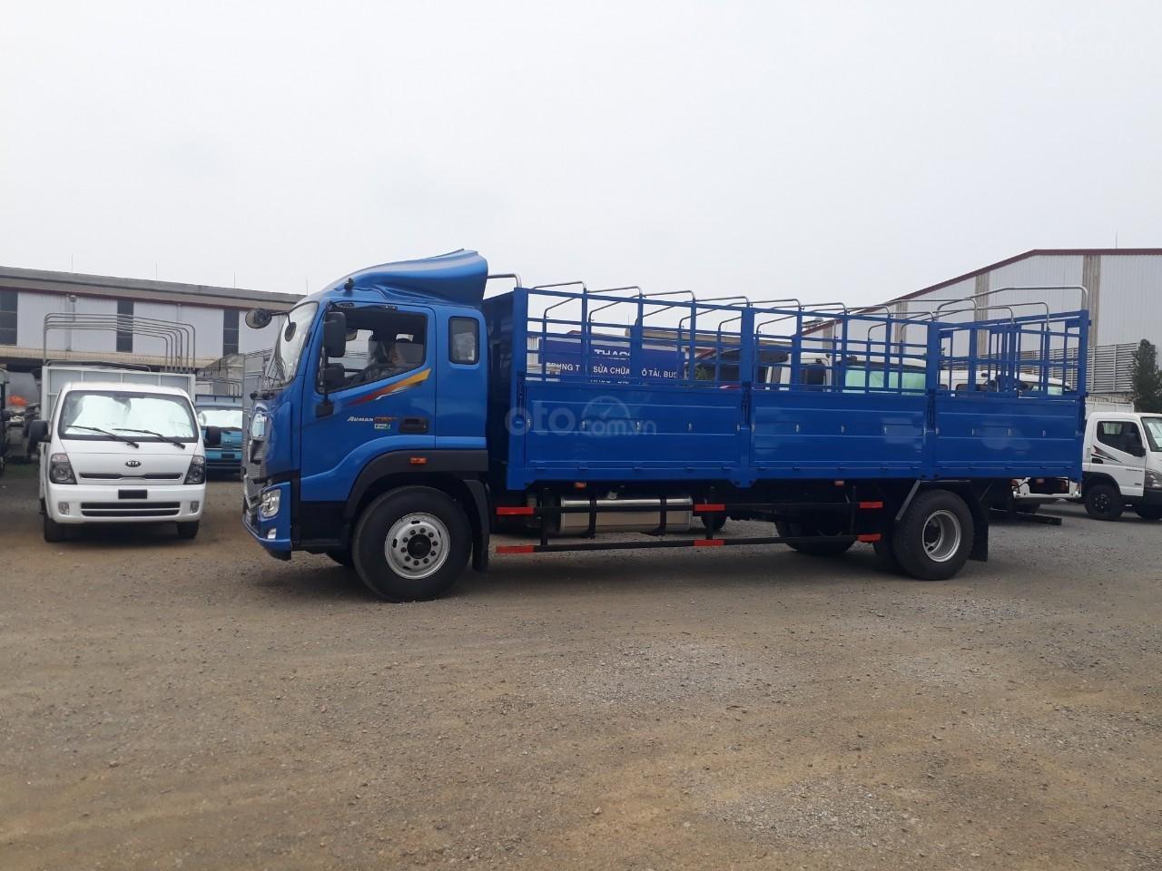 Xe tải Thaco Auman C160. E4 tải trọng 9.1 tấn Trường Hải thùng dài 7,4m ở Hà Nội-1