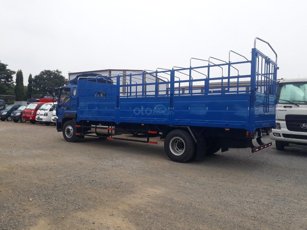 Xe tải Thaco Auman C160. E4 tải trọng 9.1 tấn Trường Hải thùng dài 7,4m ở Hà Nội (5)