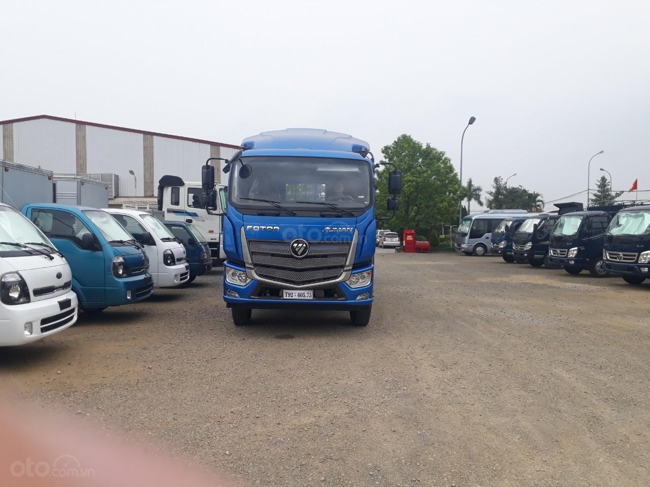 Xe tải Thaco Auman C160. E4 tải trọng 9.1 tấn Trường Hải thùng dài 7,4m ở Hà Nội (4)