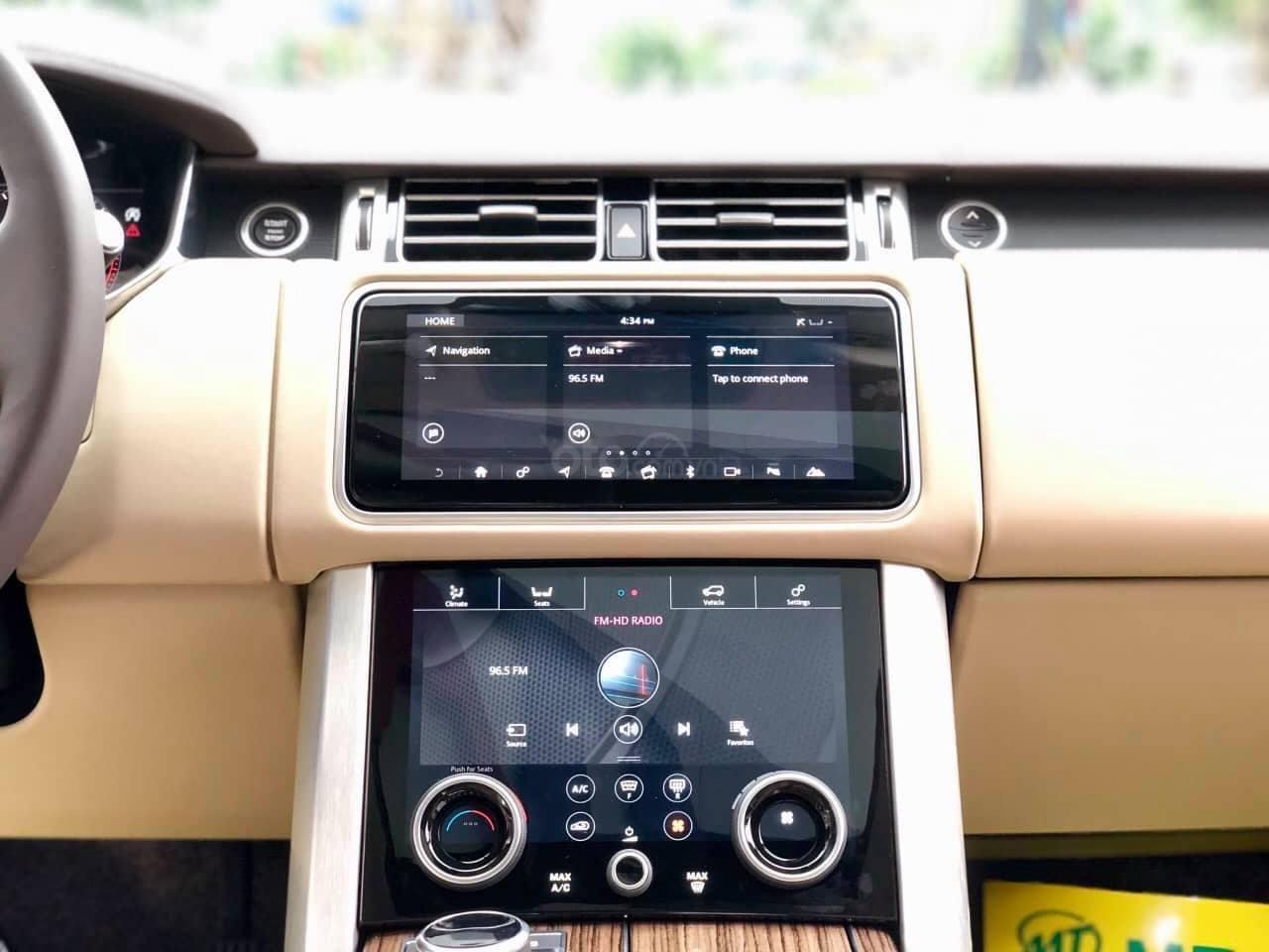 Bán LandRover Range Rover HSE 3.0 2018, màu trắng, nhập khẩu Mỹ - LH: 0982.84.2838-3