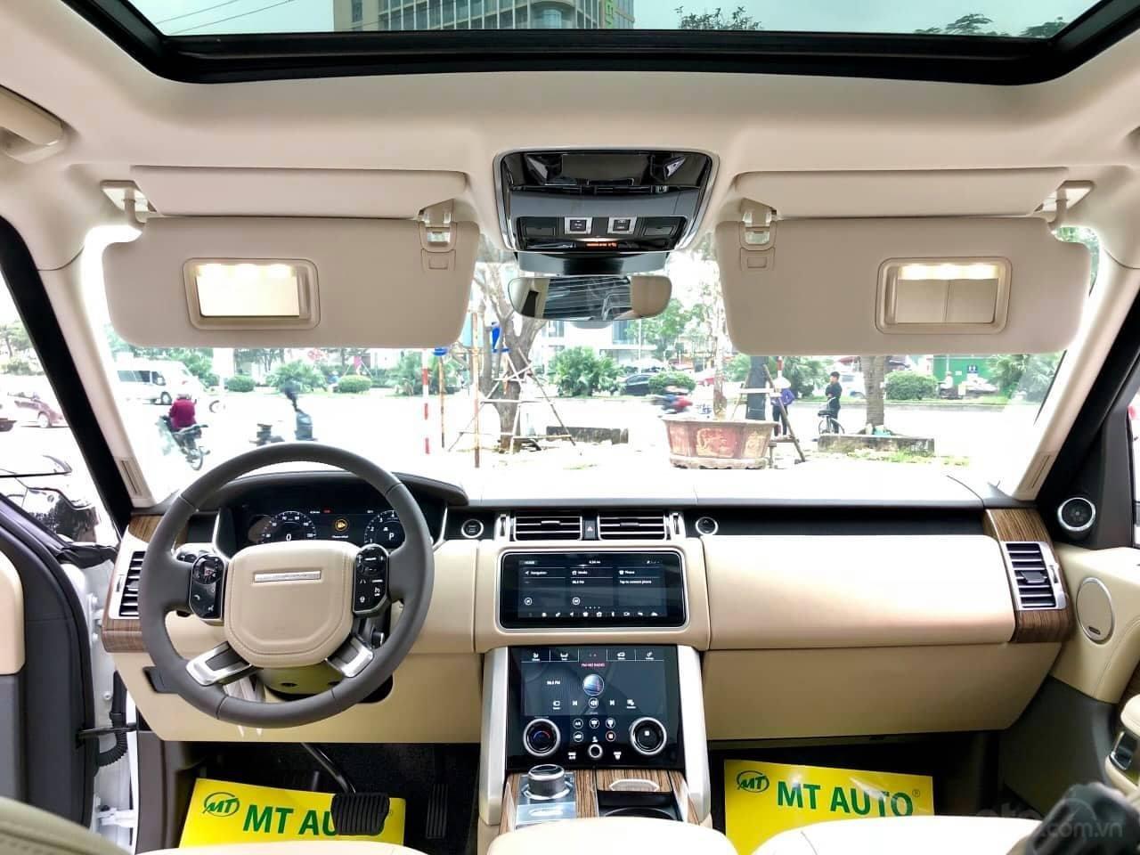 Bán LandRover Range Rover HSE 3.0 2018, màu trắng, nhập khẩu Mỹ - LH: 0982.84.2838-10
