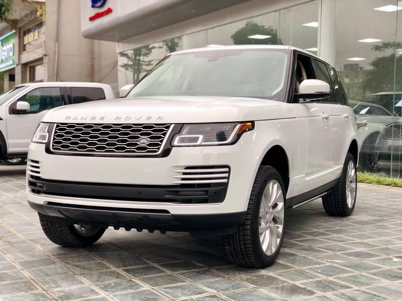Bán LandRover Range Rover HSE 3.0 2018, màu trắng, nhập khẩu Mỹ - LH: 0982.84.2838-2