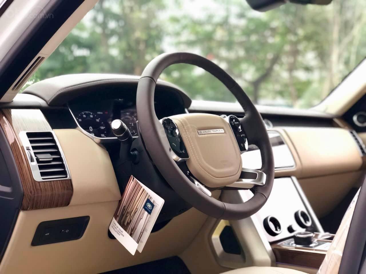 Bán LandRover Range Rover HSE 3.0 2018, màu trắng, nhập khẩu Mỹ - LH: 0982.84.2838-12