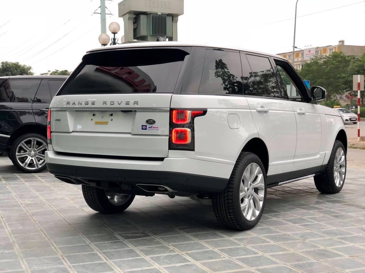 Bán LandRover Range Rover HSE 3.0 2018, màu trắng, nhập khẩu Mỹ - LH: 0982.84.2838-9