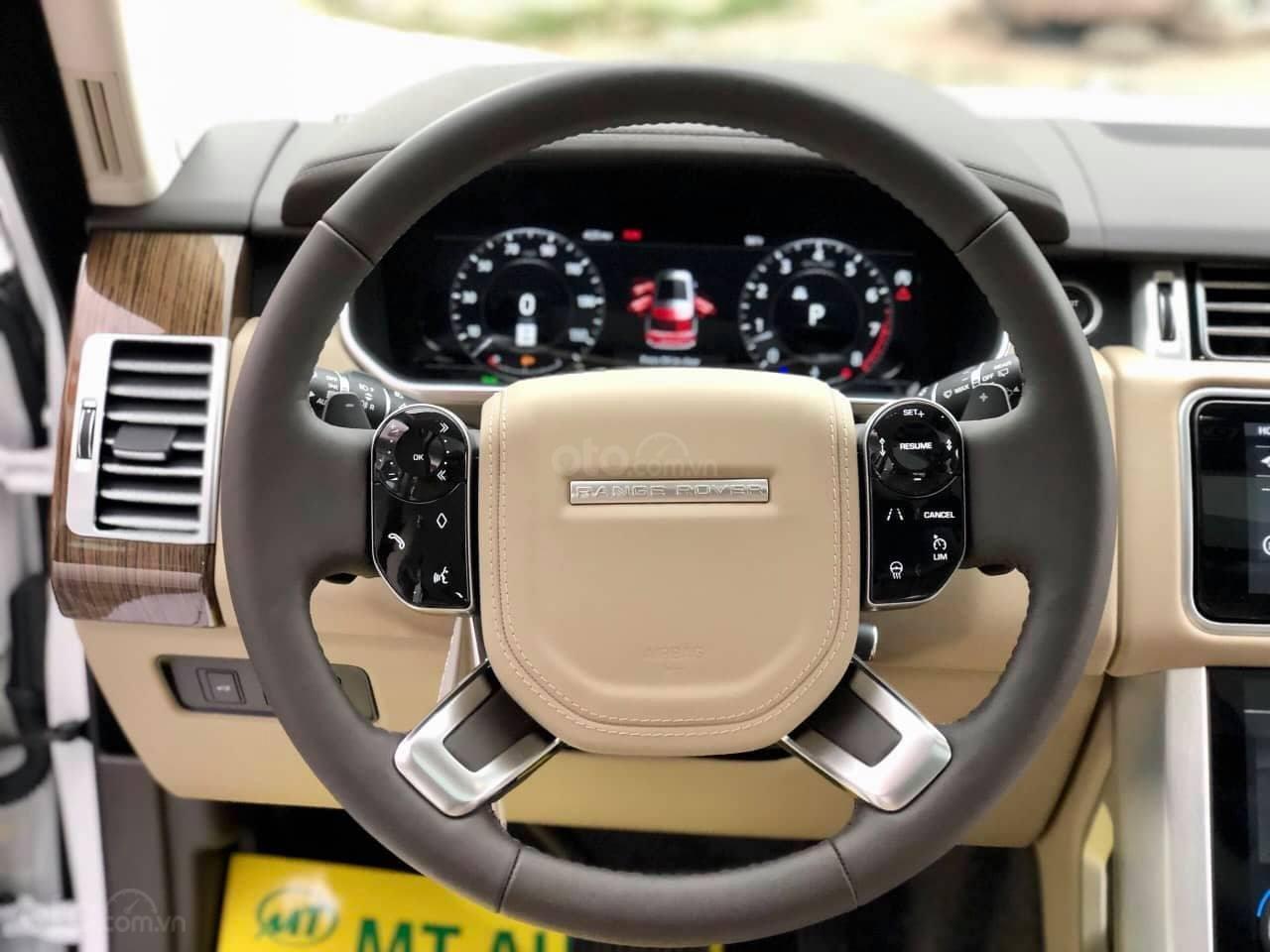 Bán LandRover Range Rover HSE 3.0 2018, màu trắng, nhập khẩu Mỹ - LH: 0982.84.2838-18