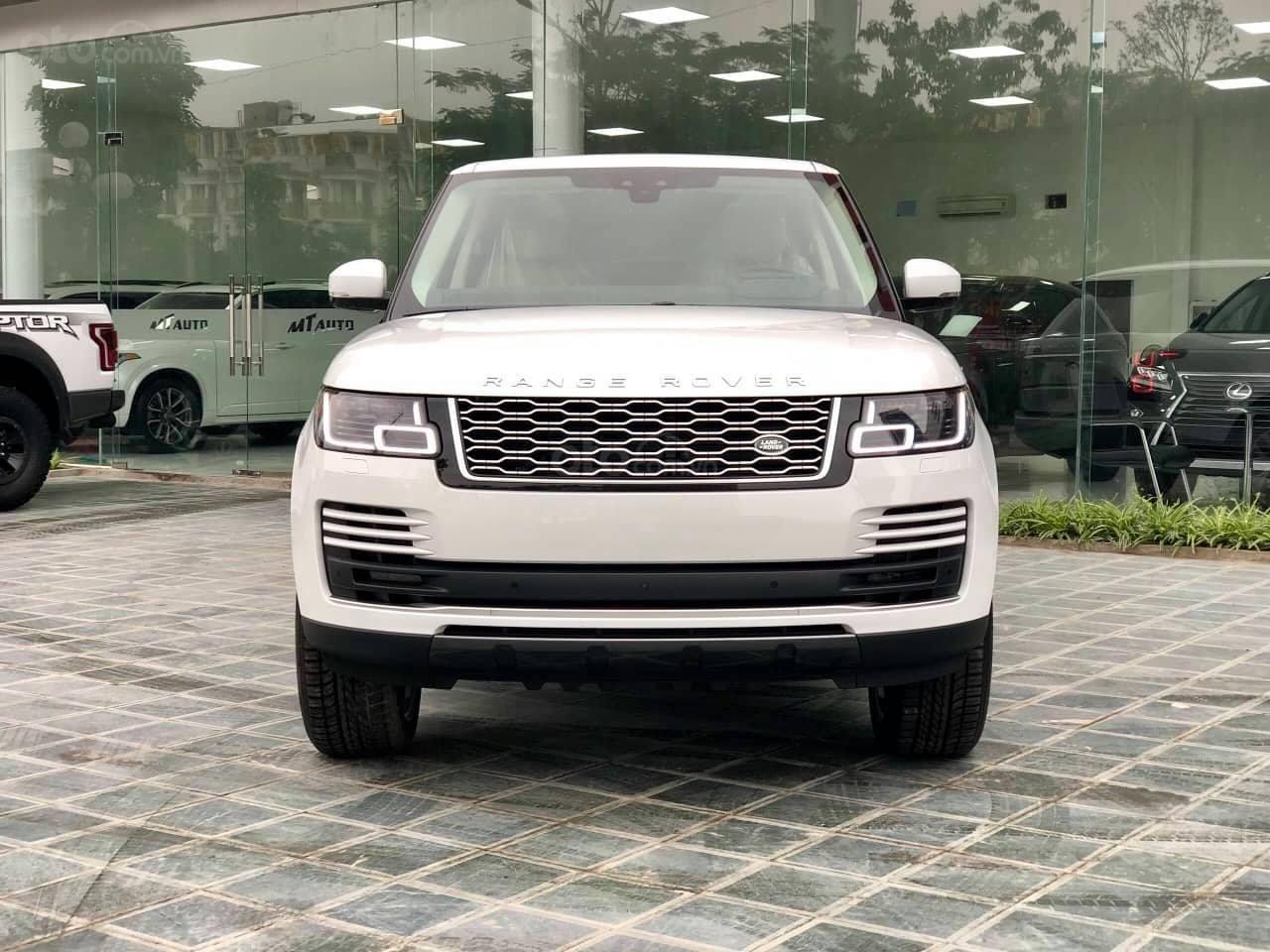Bán LandRover Range Rover HSE 3.0 2018, màu trắng, nhập khẩu Mỹ - LH: 0982.84.2838-1