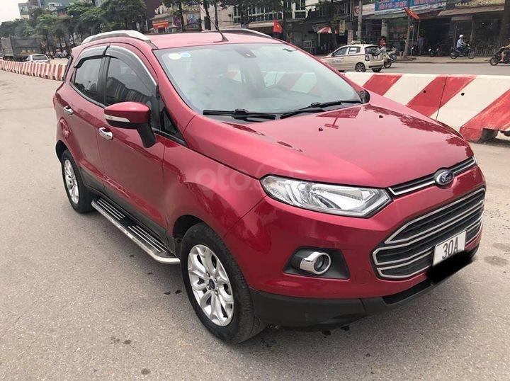 Bán Ford EcoSport Titanium 1.5AT đời 2016, màu đỏ (1)