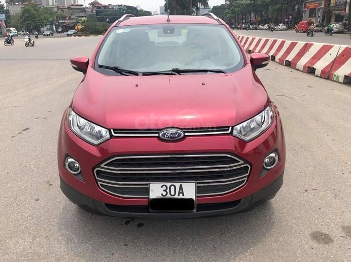 Bán Ford EcoSport Titanium 1.5AT đời 2016, màu đỏ (2)
