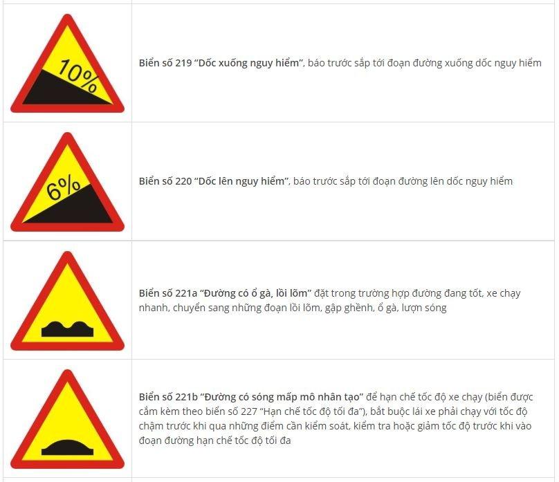Toàn bộ biển báo nguy hiểm và ý nghĩa: Nhớ sẽ không sợ rủi rosrgh