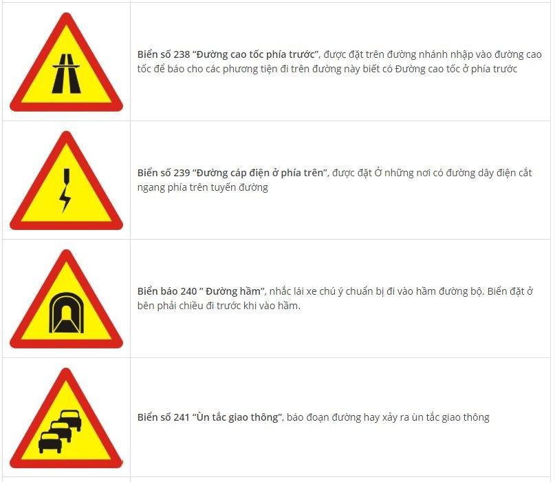 Toàn bộ biển báo nguy hiểm và ý nghĩa: Nhớ sẽ không sợ rủi roset