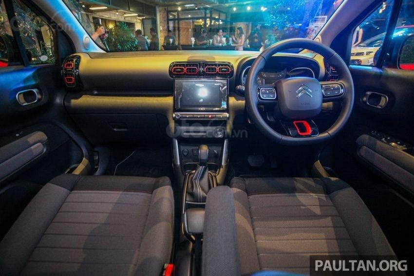 SUV Citroen C3 Aircross trang bị nhiều tính năng, công nghệ đáng giá
