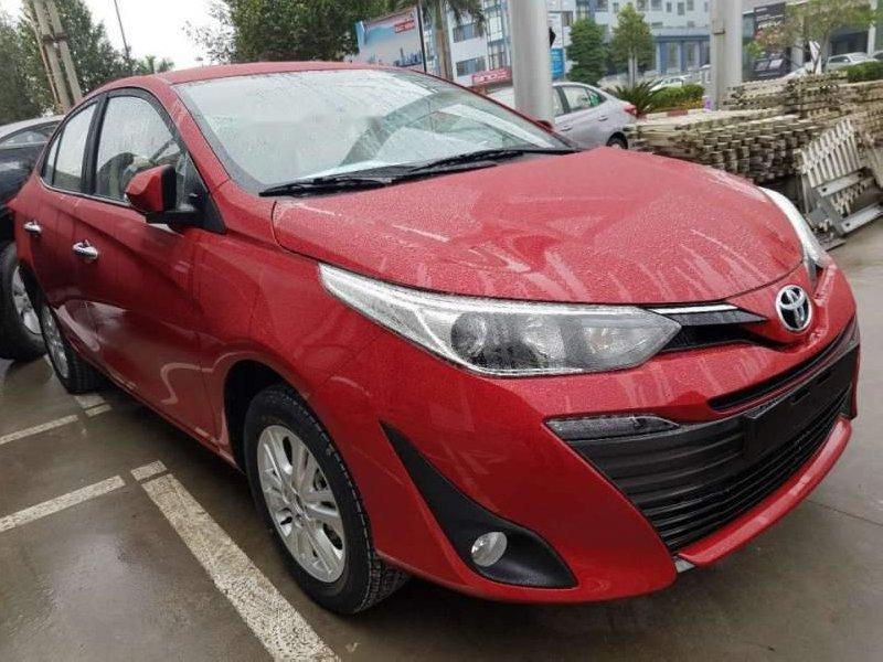 Cần bán Toyota Vios 2019, màu đỏ giá cạnh tranh-2