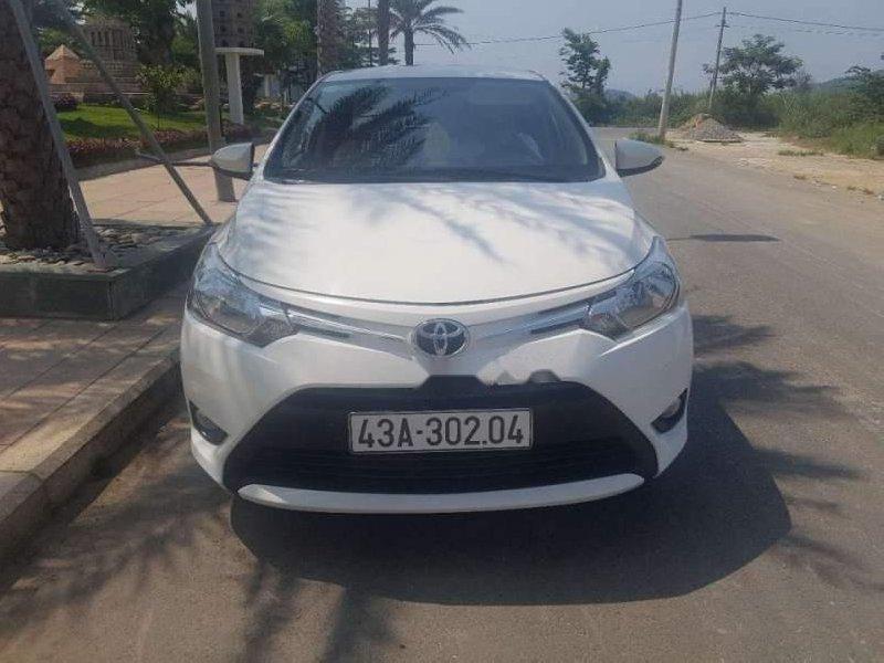Bán Toyota Vios 2017, màu trắng, nhập khẩu-0