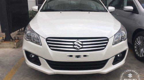 Bán Suzuki Ciaz 1.4 AT 2018, màu trắng, xe mới 100%-0