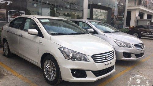 Bán Suzuki Ciaz 1.4 AT 2018, màu trắng, xe mới 100%-1