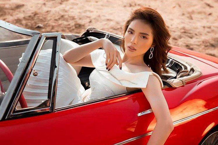 Người mẫu Minh Triệu và Hoa hậu Kỳ Duyên khoe sắc bên Datsun 1600 cổ điển - Ảnh 7.
