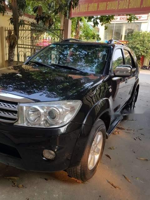 Bán xe Toyota Fortuner sản xuất 2010, đăng ký 2011, màu đen, 585tr-0