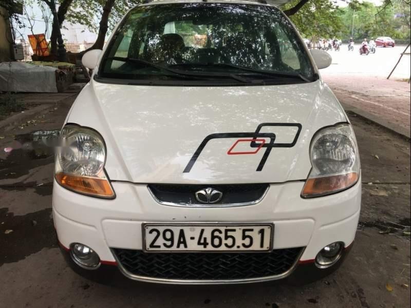 Bán Daewoo Matiz Zoy năm sản xuất 2007, màu trắng, nhập khẩu  -0