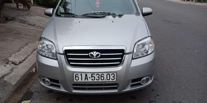 Bán xe Daewoo Gentra đời 2009, màu bạc, máy êm ru-0