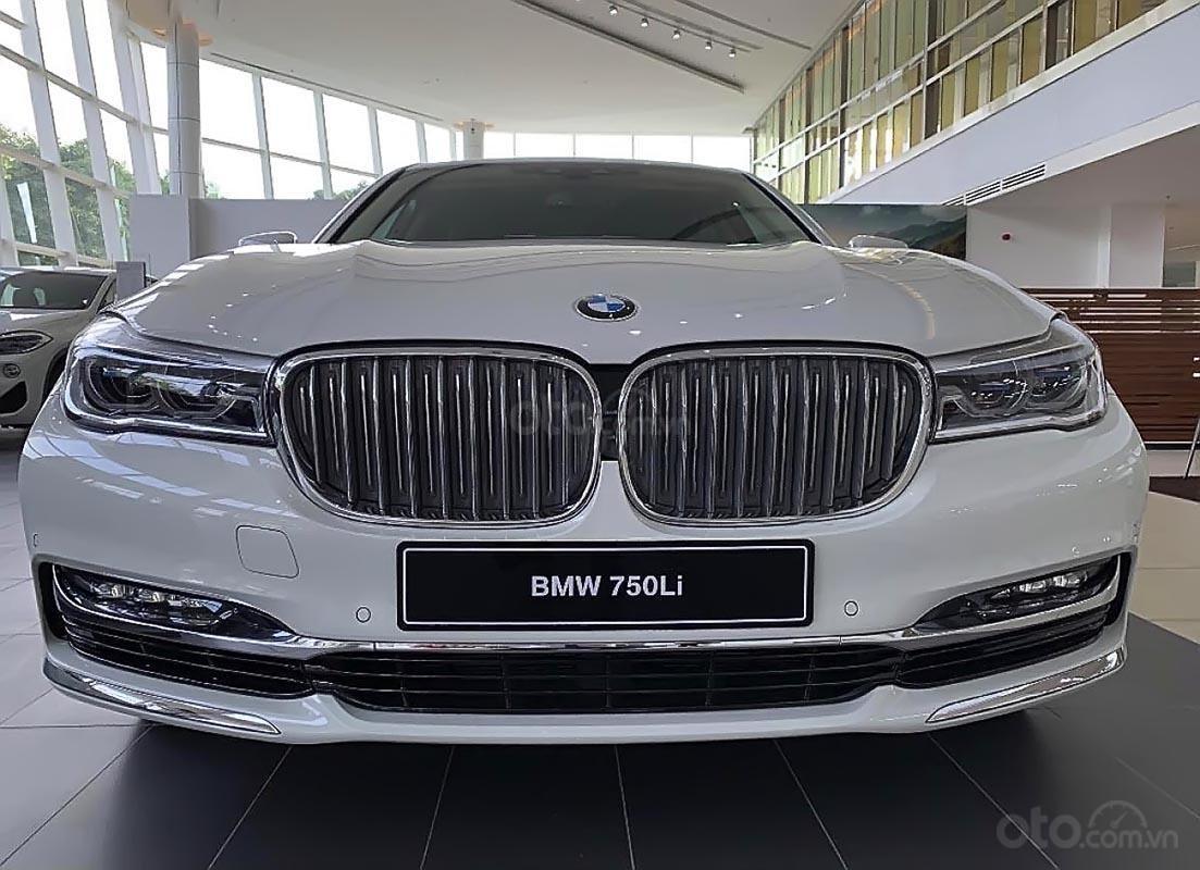 Bán BMW 750Li sản xuất năm 2019, màu trắng, nhập khẩu-4