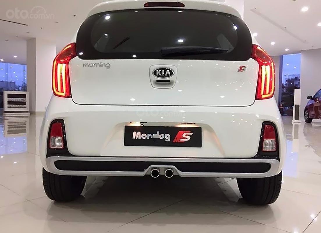 Bán Kia Morning S AT 2019, màu trắng, giá cạnh tranh-4