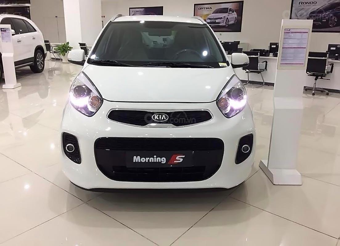 Bán Kia Morning S AT 2019, màu trắng, giá cạnh tranh-3