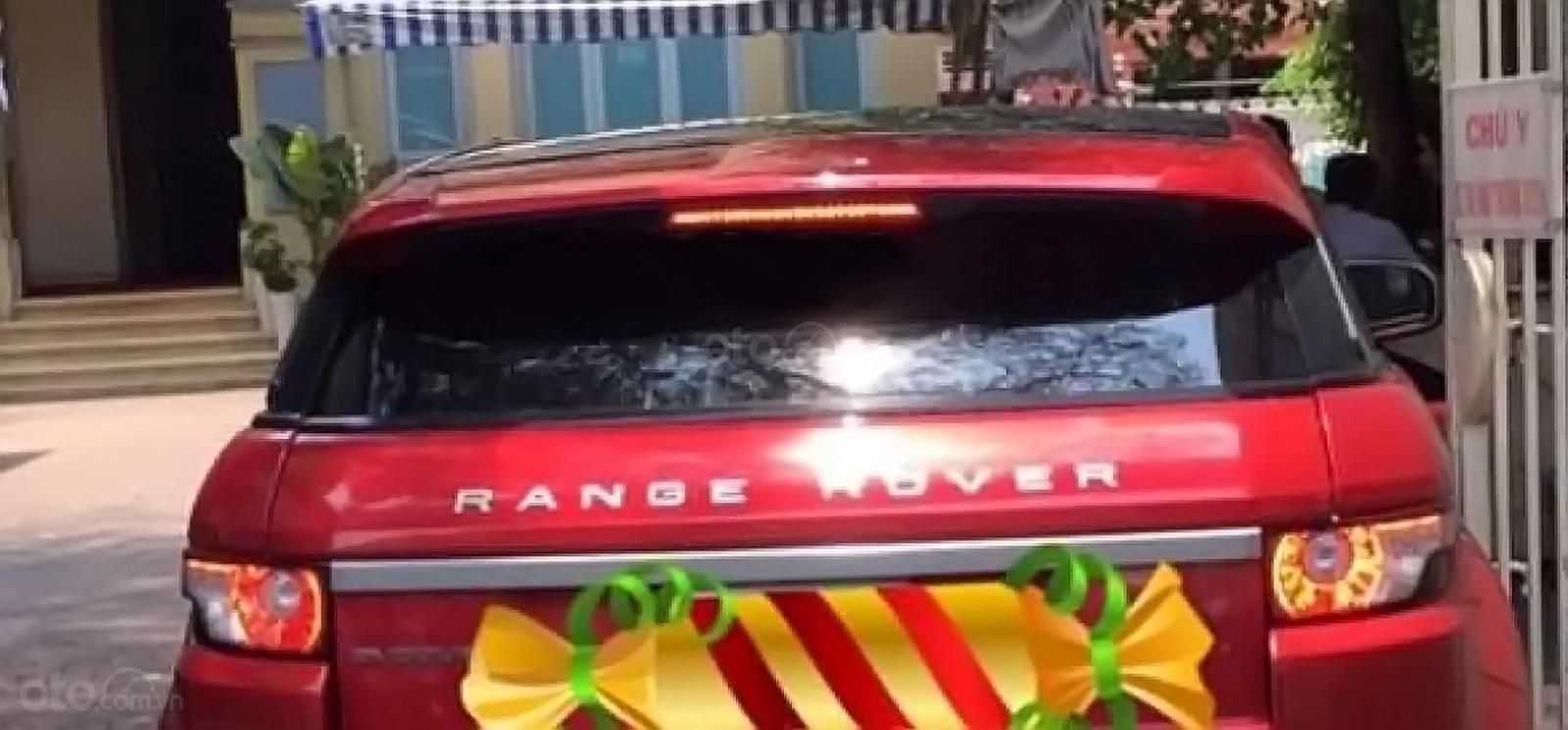 Bán LandRover Range Rover Evoque Dynamic sản xuất 2013, màu đỏ, nhập khẩu (2)