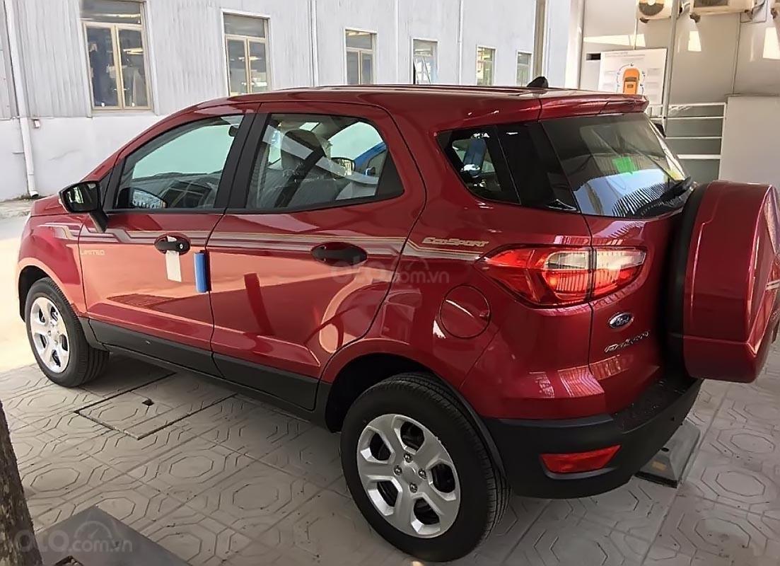 Bán Ford EcoSport Ambiente 1.5 AT năm 2019, màu đỏ-1