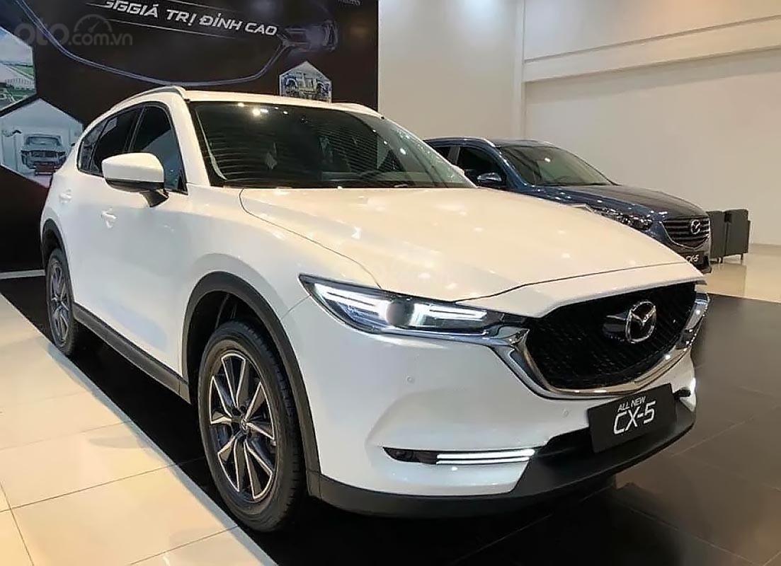 Bán Mazda CX 5 2.0 AT 2019, màu trắng, giá chỉ 849 triệu-0